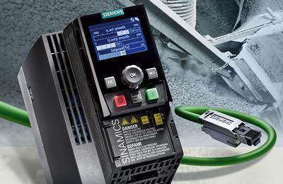 Siemens erweitert Kompaktumrichter Sinamics G120C um Profinet-Va