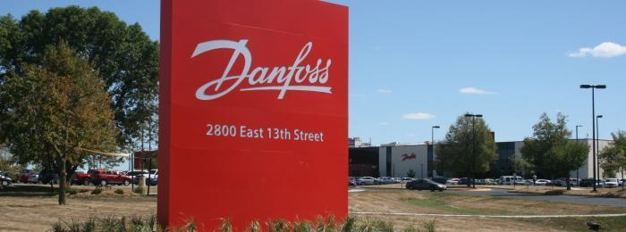 Danfoss-signage